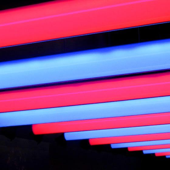 tubos tira led rgb