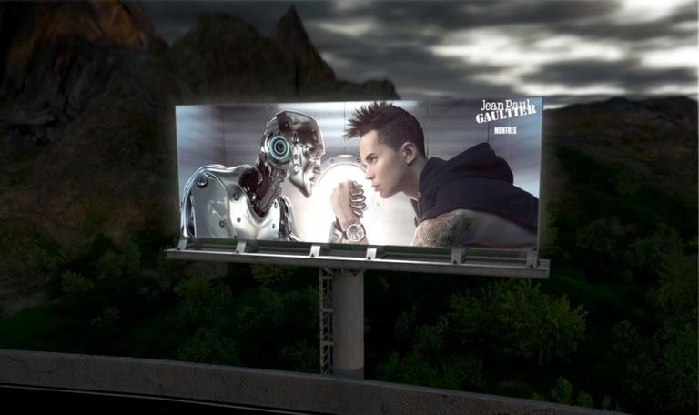 Tira LED vallas publicitarias