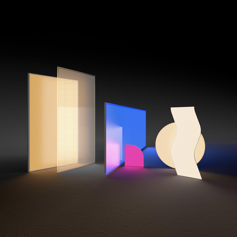 paneles LED arquitectura