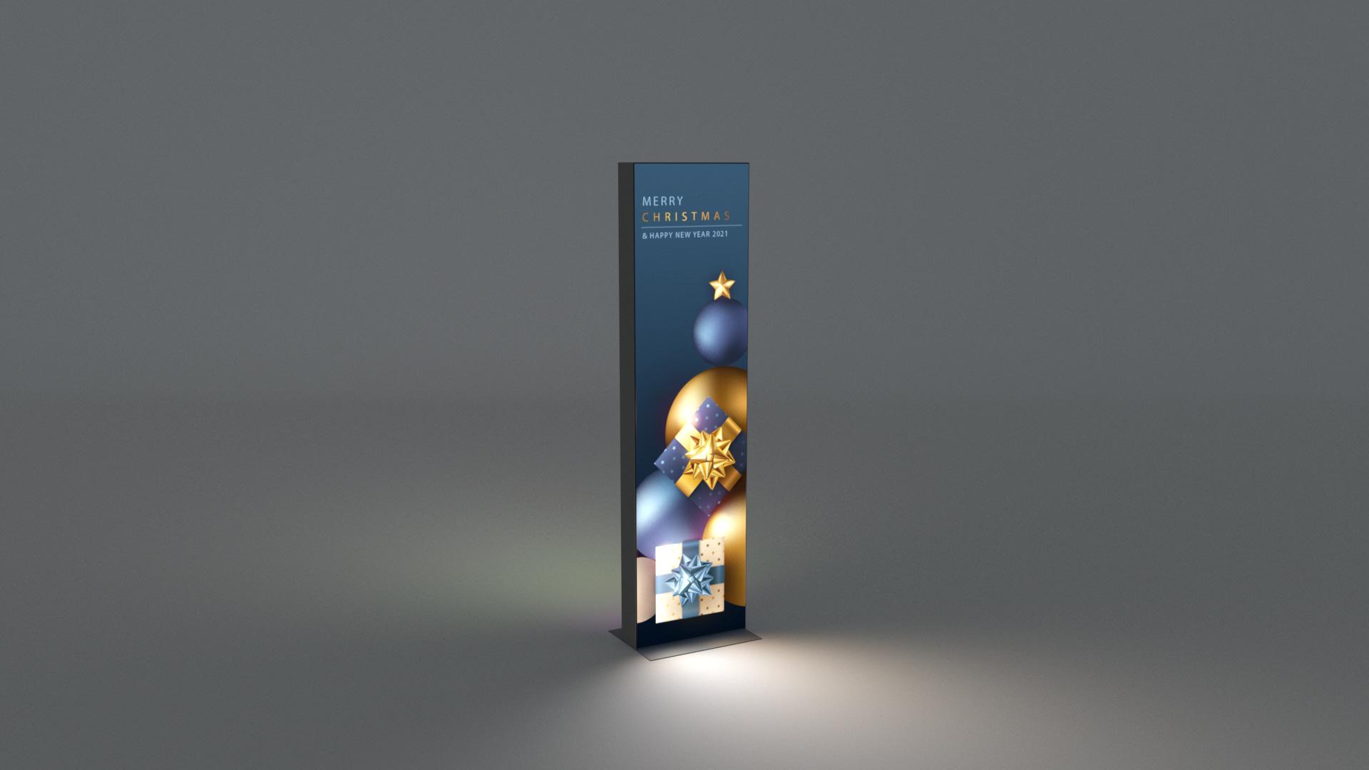 LED lightbox caja luz actilum