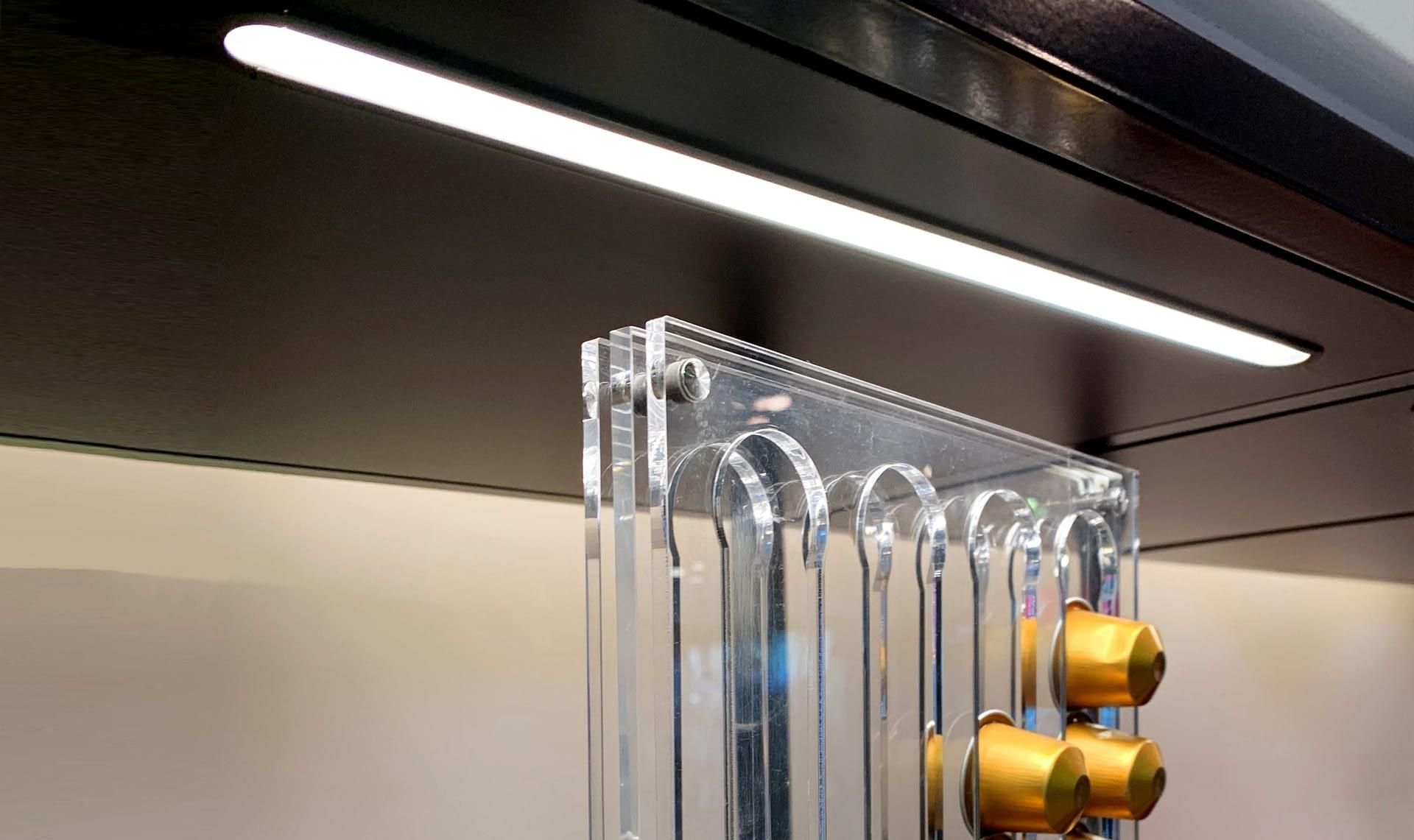 Ruban LED profile aluminium mobilier