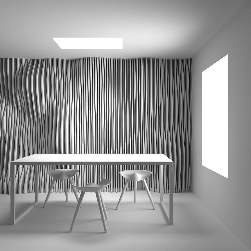 panel LED cocina