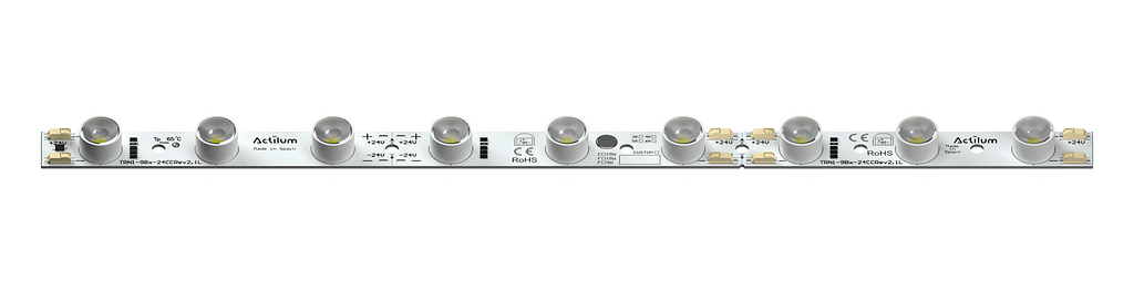 LED strip lightbox parallel m