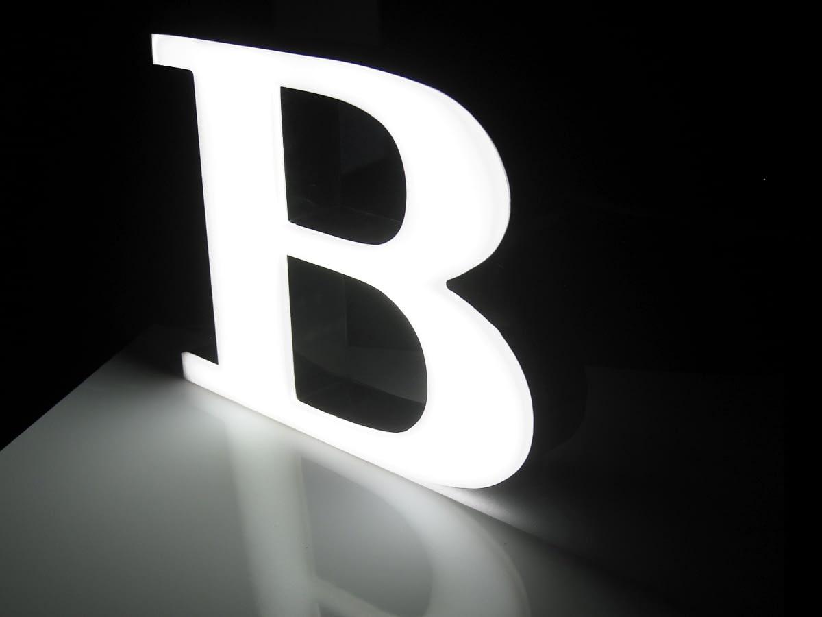tira led flexible letras