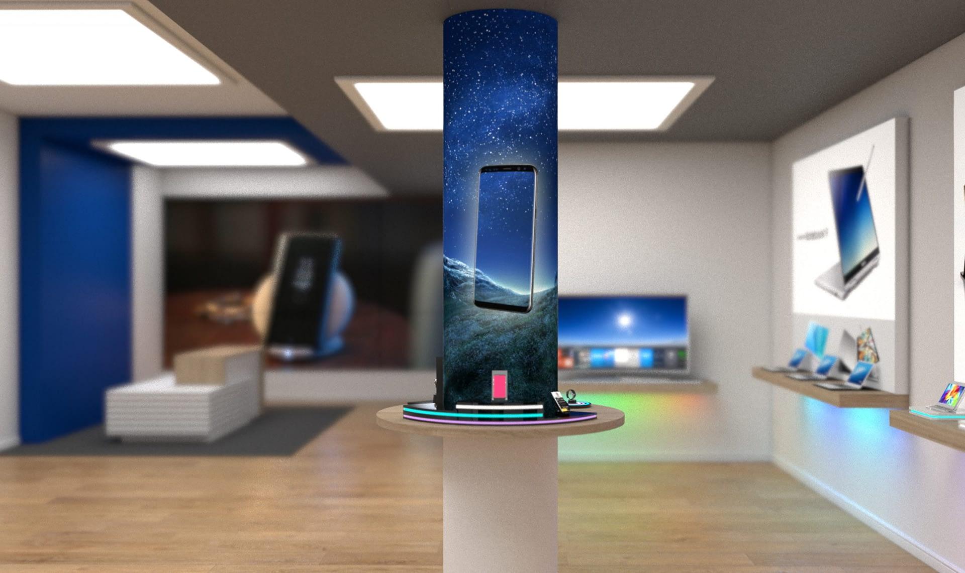 rigid light bar led column