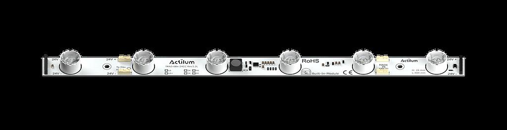 LED strip mupi totem parallel flex actilum