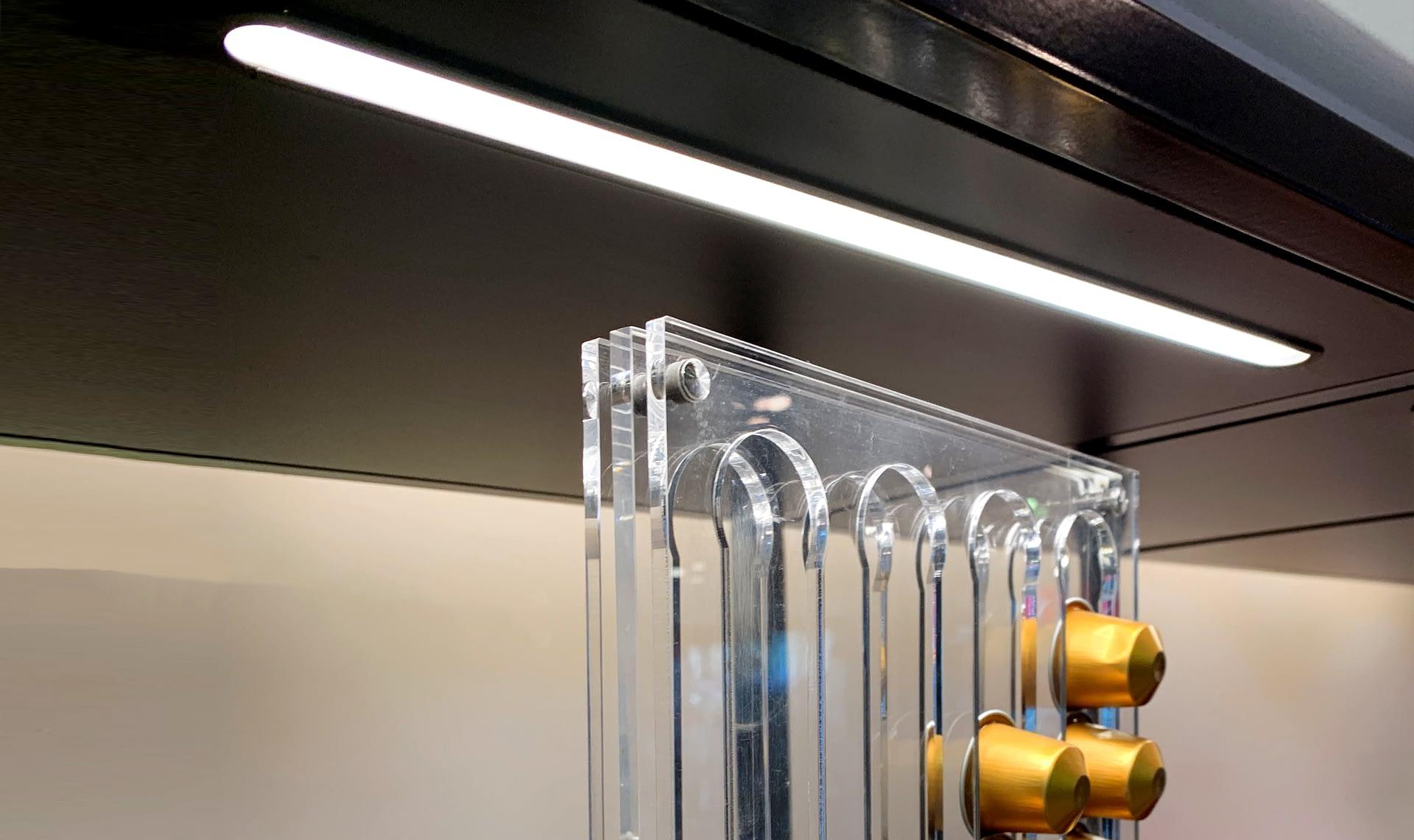 tira led perfil aluminio