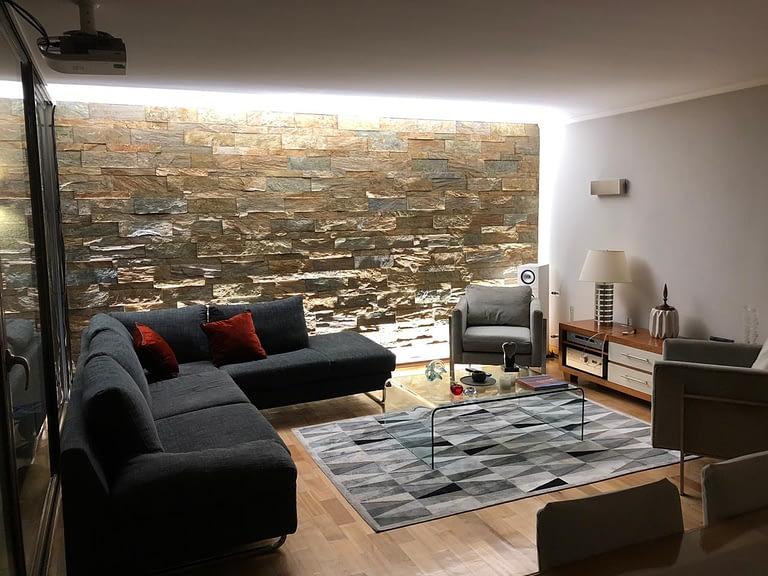 LED strip lightbox wallwasher