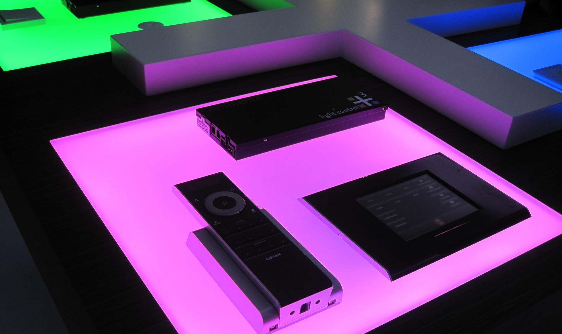 custom led panel rgb