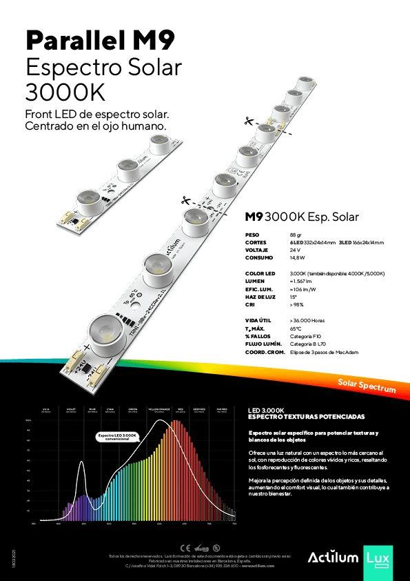 Solar Parallel M 3000K